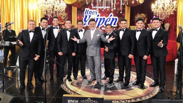 Así fue la presentación de los Hermanos Yaipén en este programa de televisión