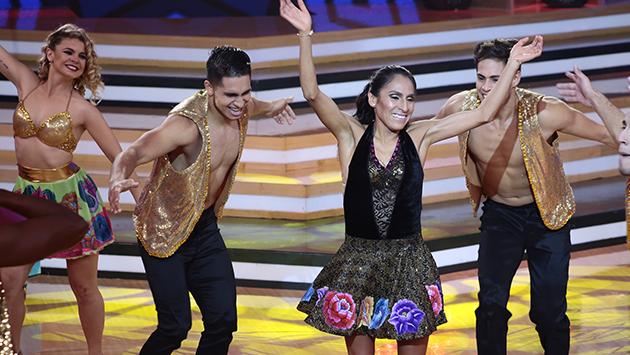 Gladys Tejeda bailó 'Viento' de Chacalón