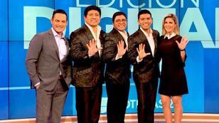 Grupo 5 promociona su sencillo 'Una noche contigo' en Estados Unidos