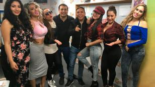 Agua Bella llegó con buenas noticias a 'Qumbias y Risas' (VIDEO)