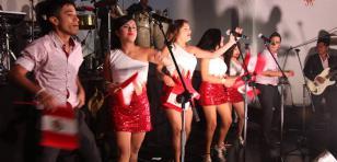 Puro Sentimiento, Agua Marina y Rossy War celebraron Fiestas Patrias en Chile