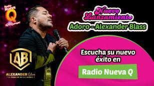 Alexander Blas estrenó nueva canción 'Adoro'