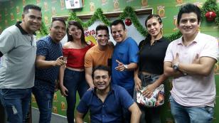 Amaya Hermanos presentó su nueva canción 'Como tú' en 'Qumbias y Risas' (VIDEO)