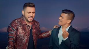 Américo y Jessi Uribe celebran 2 millones de 'Desde que te fuiste'