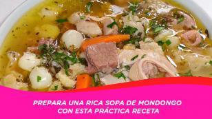 Aprende a preparar una rica sopa de mondongo, ¡precisa para este frío!