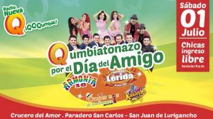 Armonía 10, Agrupación Lérida, Kassandra y Los Campesinos de Bambamarca celebrarán el Día del Amigo en concierto