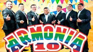 Armonía 10 anunció nuevos conciertos