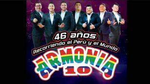 Armonía 10 brindará concierto en Chorrillos