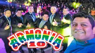 Armonía 10 celebrará Navidad con concierto en Piura