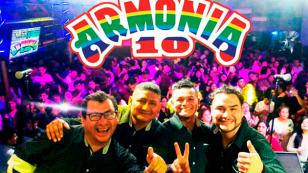 Armonía 10 confirmó los nuevos conciertos que dará en junio