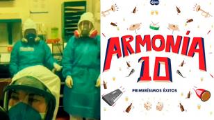 Armonía 10: Personal médico se une al divertido challenge 'Dios mío haz que me enamore'