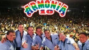 Armonía 10 realizará conciertos en Argentina