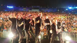 ¡Así fue el concierto de Gran Orquesta Internacional en Chorrillos! (FOTO)