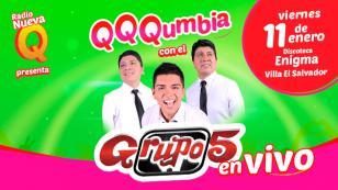 ¡Atención, Lima! No te puedes perder QQQumbia con el Grupo5 EN VIVO
