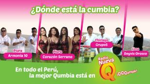 Los más grandes del Perú saben dónde está la cumbia