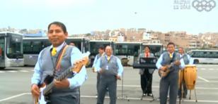 Choferes del Metropolitano lanzan banda musical al ritmo de cumbia