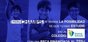 Perú Champs regala 250 becas y radio Nueva Q apoya esta iniciativa