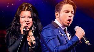Briyit y Marco Antonio Guerrero presentaron su nueva canción 'Traicionero es tu amor' en Nueva Q