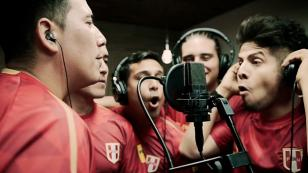 Cantantes de cumbia participaron en nueva versión de 'Porque yo creo en ti' (VIDEO)