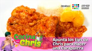 ¡Mira la receta de Chris y haz una Carapulcra riquísima!