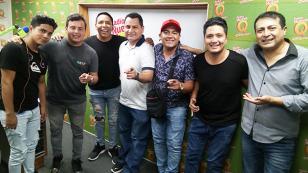 Caribeños de Guadalupe nos presentó su nueva canción 'Punto de partida' en 'Qumbias y Risas' (VIDEO)