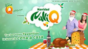 ¡Ellos tendrán su cena navideña con la Navidad 'NaviQ', gracias a Radio Nueva Q!