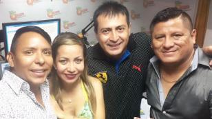 Chris Alegría cantó 'El Perdón' a dúo con Clavito y su Chela (VIDEO)