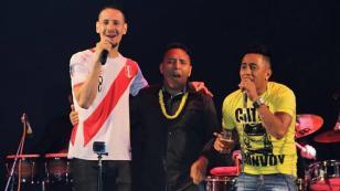 Christian Cueva celebró el Año Nuevo a ritmo de 'Una cerveza'