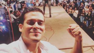 Christian Domínguez agradeció a Huamachuco por todo el apoyo en su show (VIDEO)