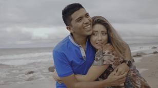 Christian Yaipén, Antonio Pavón y la modelo Carolain Cawen protagonizan triángulo amoroso en nuevo videoclip del Grupo5