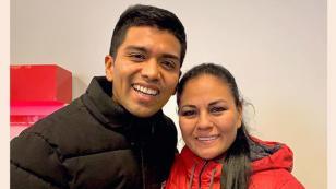 Christian Yaipén se muestra emocionado al conocer a Dina Paucar