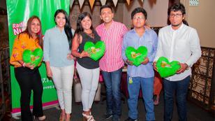Christian Yaipén y Maricarmen Marín disfrutaron de una linda velada junto a nuestros oyentes (FOTOS Y VIDEO)