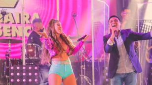 Christian Yaipén y Yahaira Plasencia cantaron por primera vez juntos