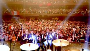 Concierto en Argentina del Grupo5