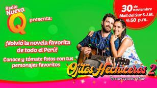 ¡Conoce a tus actores favoritos de 'Ojitos Hechiceros 2', gracias a Radio Nueva Q!