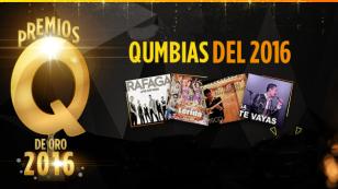 ¡Conoce aquí a todos los artistas ganadores de los Premios Q de Oro 2016!