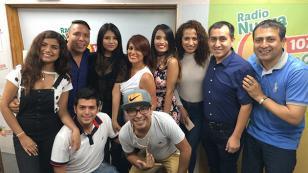 Corazón Serrano cantó en vivo en 'Qumbias y Risas'