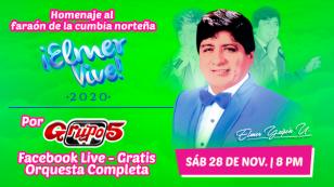 Grupo 5 anuncia concierto virtual 'Elmer Vive 2020'