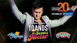Deyvis Orosco celebra diez años de aniversario con gira 'Somos Néctar'