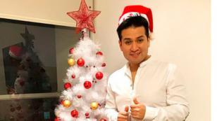 Deyvis Orosco mostró cómo vivió la Navidad