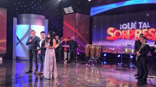 Deyvis Orosco se emocionó hasta las lágrimas en programa 'Qué tal sorpresa'
