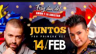 Deyvis Orosco y Nacho ofrecerán concierto por el Día de los Enamorados