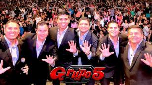 ¿Dónde serán los próximos conciertos del Grupo5?