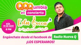 Edu Lecca transmitirá su primer concierto virtual