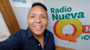Edwin Sierra, de Radio Nueva Q, es uno de los locutores peruanos preferidos por los menores de edad