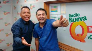 ¡Edwin Sierra y Oscar del Río sí que se vacilan en 'Qumbias y Risas'! [VIDEO]