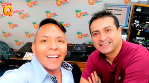 ¡Edwin Sierra y Oscar Del Río se emocionaron al saludar a los papás por su día! (VIDEO)