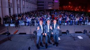 El grupo 5 realiza 'concierto silencioso'
