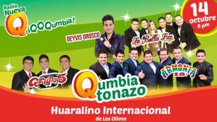 El Qumbiatonazo te espera en el Huaralino de Los Olivos
