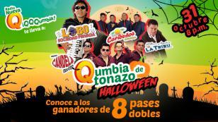 ¡Ellos ganaron entradas para el Qumbiatonazo por Halloween!